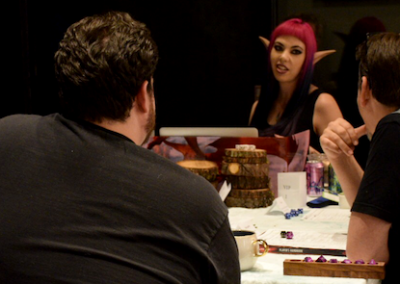 Intrigue and adventure with DM Satine Phoenix.