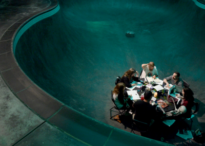 D&D? In a skate bowl? Yeah, we have that.